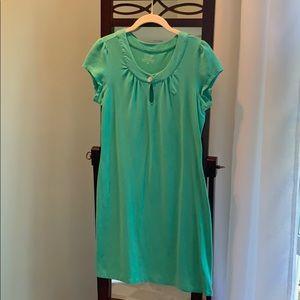 Vineyard Vines Keyhole T-shirt Dress